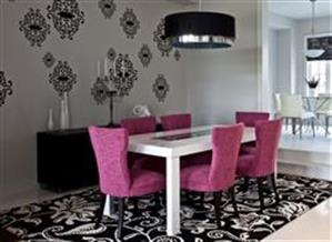 Dining room table carpets