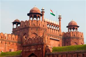 Lal Qila, Red fort, Delhi, India