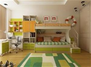 Kid's carpet bedroom