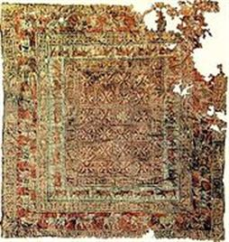 tThe Pazyryk carpet is the most antique hand-woven specimen.